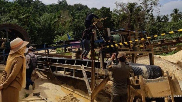 Diduga Merusak Lingkungan, Pemkot Kendari Tutup Tambang Pasir Ilegal di Kecamatan Nambo