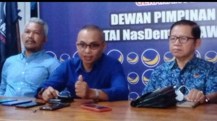 Gubernur Sulawesi Tenggara Ali Mazi Ketua DPW Nasdem Sultra, DPP Sebut sebagai Kader Terbaik