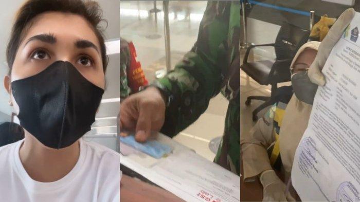 Video detik-detik selebgram Gebby Vesta ngamuk di bandara hingga adu mulut petugas berseragam viral di media sosial (medsos), Kamis 22 Juli 2021.