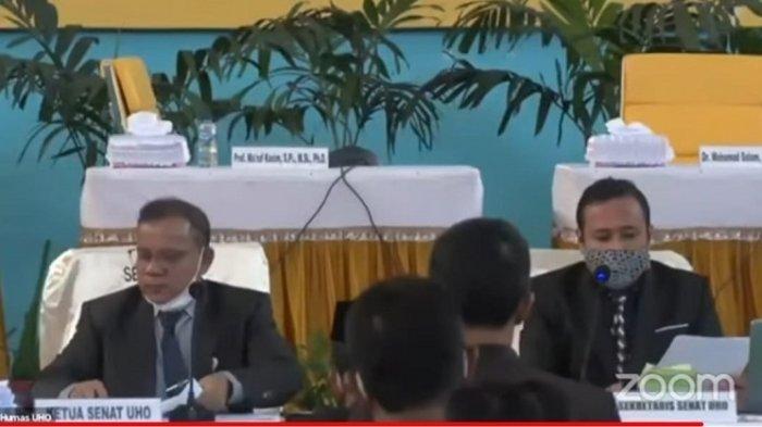 Usai Pemunguntan Suara Bakal Calon Rektor UHO Kendari, Dilanjutkan Penghitungan Secara Tertutup