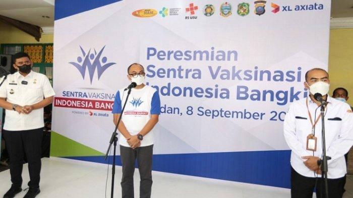 XL Axiata Gelar Sentra Vaksinasi Covid-19 di Medan hingga 3 November, Syarat dan Link Daftar Online
