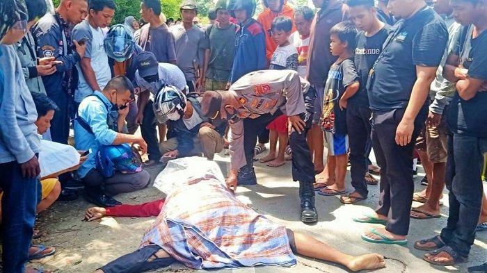 Tabrak Lari Tewaskan Warga Kelurahan Puosu Konawe, Pelaku Diamankan Polsek Pondidaha
