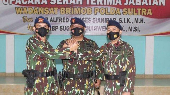 Pejabat Brimob Polda Sulawesi Tenggara Berganti, Wadansat, Pimpinan Detasemen Gegana Dirotasi