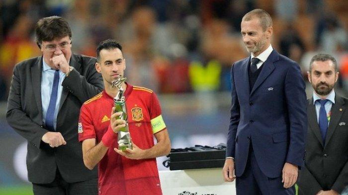 Hasil Final UEFA Nations League 2021 Prancis Juara, Busquets Pemain Terbaik Sebut Gol Mbappe Offside