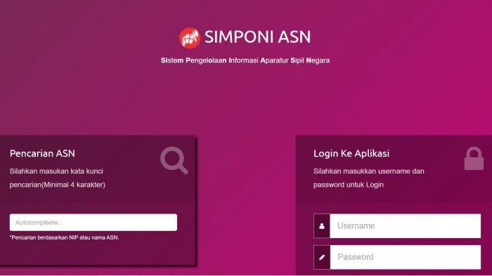 Simponi ASN Sultra Login simponi-asn.info, Lengkap Data PNS Sulawesi Tenggara, Jumlah dan Instansi
