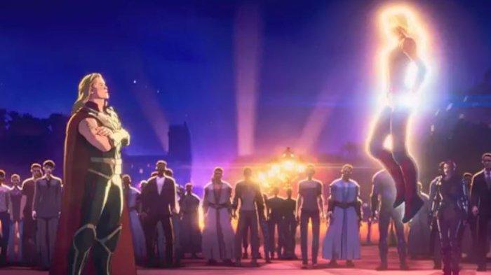 Sinopsis What If Episode 7, Thor Jadi Tukang Pesta Bersahabat dengan Loki dan Melawan Captain Marvel
