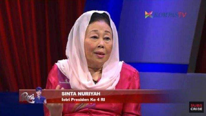 Profil Sinta Nuriyah, Istri Gus Dur Dikabarkan Meninggal Dunia, Anak Sebut Kabar Hoaks