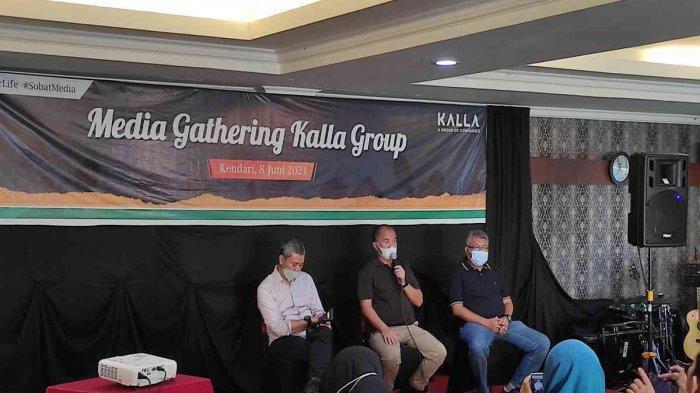 Solihin Jusuf Kalla Paparkan Bisnis Kalla Group di Sulawesi Tenggara, Mobil, Logistik, Aspal, Beton
