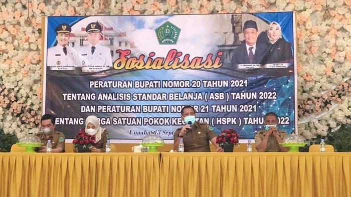 Pemkab Konawe Bakal Efisiensi Anggaran Tahun 2022, Prioritaskan Tunjangan Kinerja ASN Tahun Depan