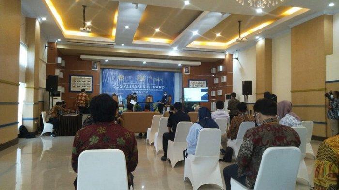 DJPb Sulawesi Tenggara Sosialisasi RUU HKPD, Jawab Tantangan di Masa Pandemi Covid-19