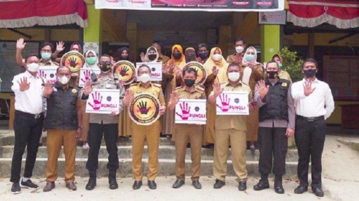 UPP Kota Kendari Sosialisasi Saber Pungli, Edukasi Pejabat dan Staf Disdukcapil, Cegah Pungutan Liar