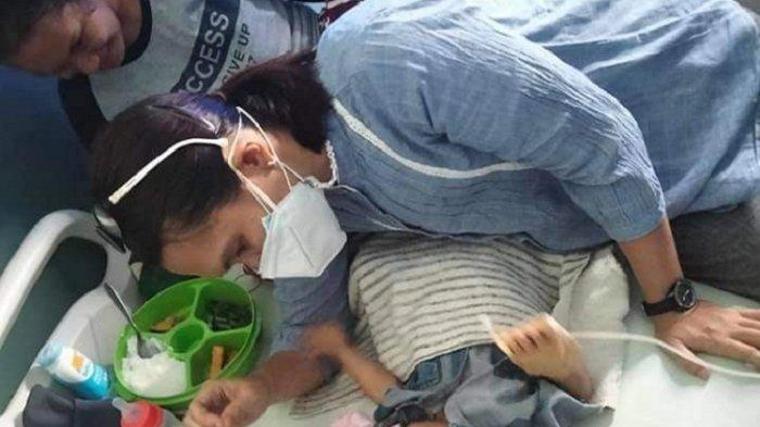 Sosok Melani Pendamping Anak Pengidap Tumor di Baubau, Dirikan Posko untuk Bantu Warga Kurang Mampu