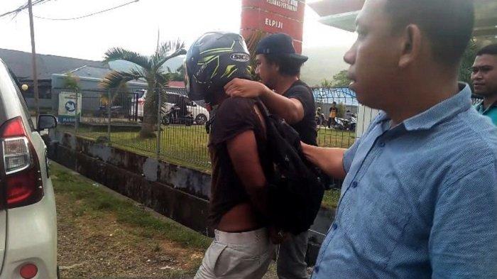 KOCAK - Lelaki di Buton Nyaris Bakar SPBU, Awalnya Sangar, Malah Nangis saat Ditangkap Polisi
