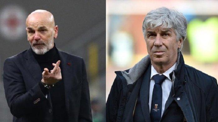 Taktik Stefano Pioli di AC Milan Pukau Pelatih Atalanta Gasperini: Lini Tengah Kosong-Penuh Jebakan