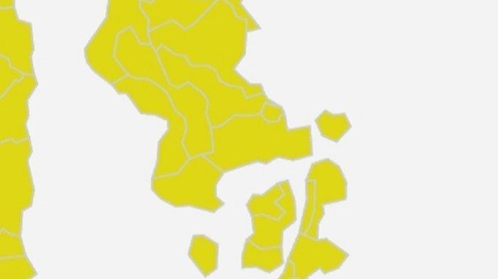 17 Kabupaten dan Kota di Sulawesi Tenggara Masuk Zona Orange Peta Risiko Penyebaran Covid-19