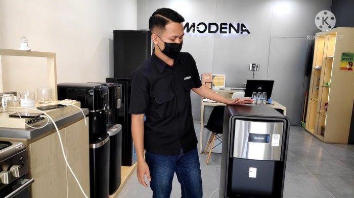 MODENA Hadirkan Water Dispenser DD 7180, Konsumsi Air Minum Harian Lebih Mudah Dan Praktis