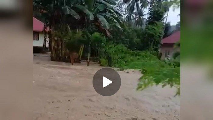Belasan Rumah Warga di Butur Terendam Banjir, Akibat Hujan Deras, Drainase Tersumbat
