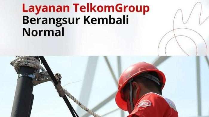 Telkom Group Klaim Layanan Internet IndiHome dan Telkomsel Berangsur Normal setelah Gangguan
