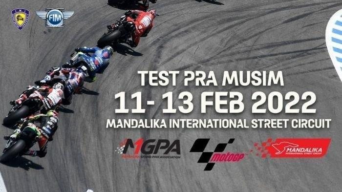 Sirkuit Mandalika Terpilih Menjadi Tempat Penyelenggara Tes Pramusim MotoGP Dunia.