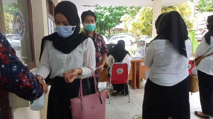 UPT BKN Kendari Terapkan Protokol Kesehatan Ketat pada Hari Kedua Pelaksanaan Tes SKD CPNS 2021