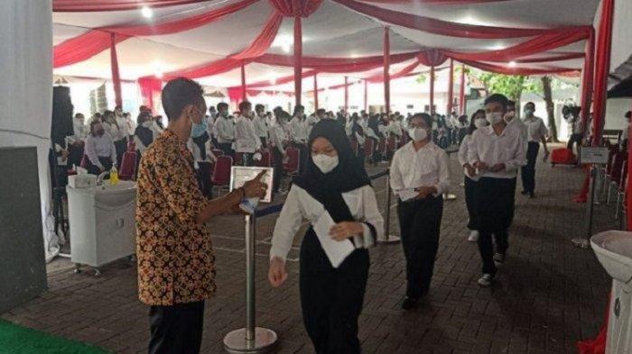 Tahapan Pelaksanaan SKD CPNS 2021 Sulawesi Tenggara, Peserta Diperiksa Tim Satgas Covid-19