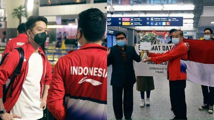 Detik Mendebarkan Pesawat Tim Indonesia Sempat Gagal Mendarat di Finlandia Ikut Piala Sudirman 2021