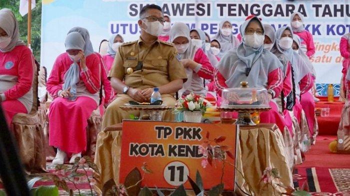 Sri Lestari Sulkarnain Optimis TP PKK Kota Kendari Menjuarai Jambore PKK Tingkat Sulawesi Tenggara