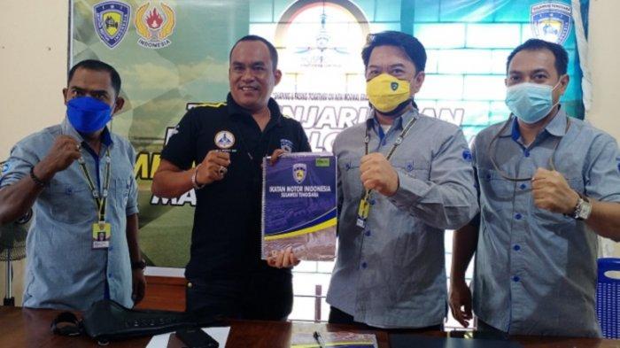 Tim Penjaringan Tetapkan Anton Timbang Calon Tunggal Ketua IMI Sultra, Didukung 15 Klub Motor