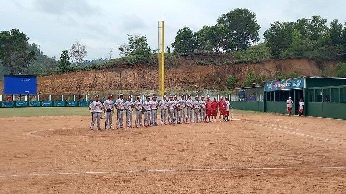 PON XX Papua 2021: Tim Softball Putra Sulawesi Tenggara Maju Semifinal, Usai Kalahkan DKI Jakarta