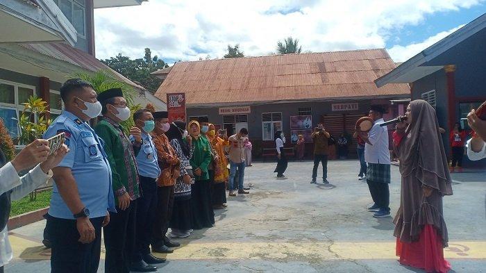 Kunjungi Rutan Kelas IIB Unaaha, Tim Visitasi Kemenag Sultra Beri Wejangan Napi, Sebut Buya Hamka