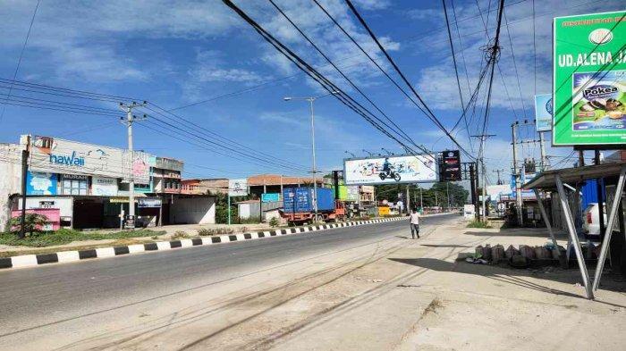 Pertikaian 2 Kelompok Pemuda hingga Pagi, Pertokoan Disekitar Pertigaan Kampus UHO Terpaksa Tutup