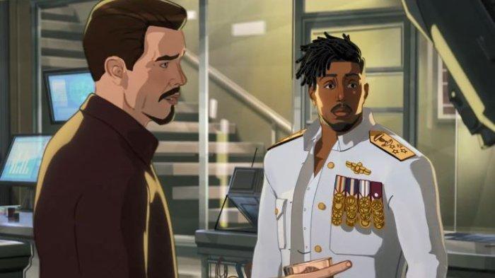 Sinopsis What If Episode 6, Pengkhianatan Erik Killmonger Sepupu T'Challa pada Tony Stark dan Rhodey