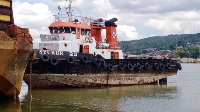 Ditpolairud Polda Sultra Amankan Tugboat, Tongkang & ABK, Panggil Saksi Kecelakaan Kapal di Konsel