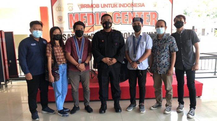 Dansat Brimobda Sultra Dukung Pelaksanaan Konfercab GMKI Kendari: Jaga Toleransi, Kokohkan Bangsa