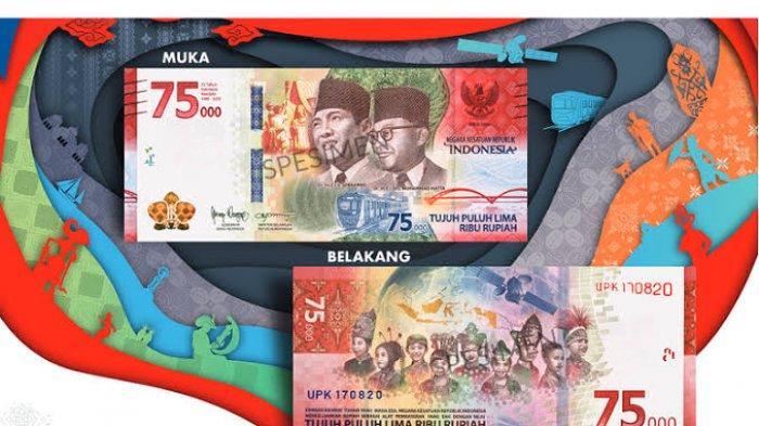 Sah sebagai Alat Pembayaran, Jangan Tolak Uang Rp75 Ribu saat Bertransaksi