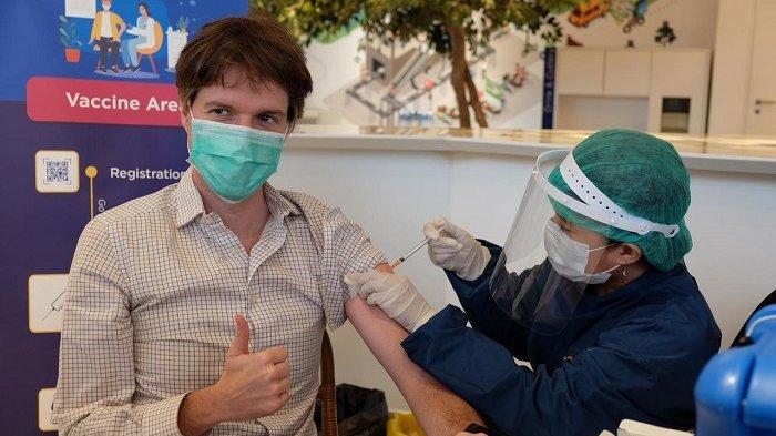 Gunakan Vaksinasi Gotong Royong, 75 Persen Karyawan XL Axiata Sudah Disuntik Vaksin
