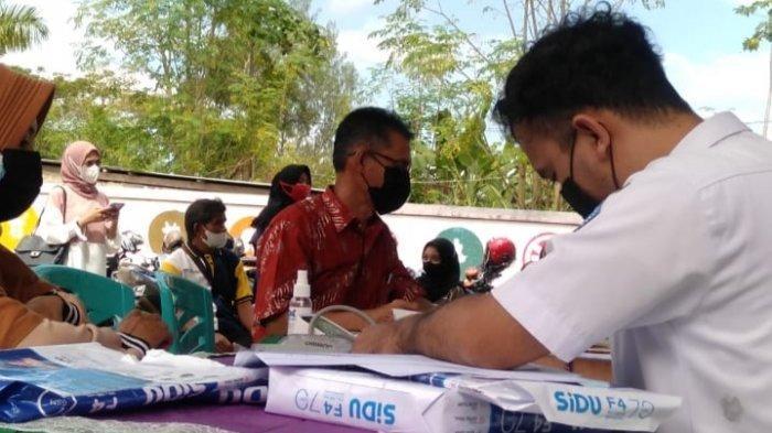 101 Warga Ikut Vaksinasi di Puskesmas Perumnas Kadia, Dinkes Kendari Beri Vaksin Anak Usia 12 Tahun