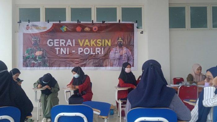 Polda Sultra Gandeng Mahasiswa UMK Target Vaksinasi 2.000 Orang, Digelar Selama 4 Hari