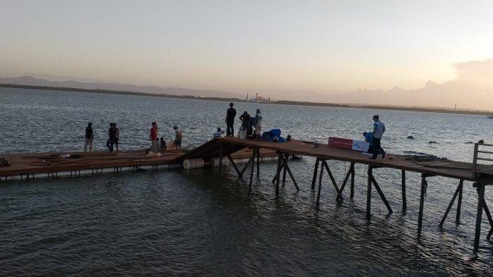 Kendari Triathlon 2021 di Kendari Beach, Panitia Buat Panggung Mengapung di Teluk Kendari