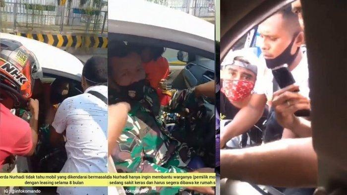 Fakta Haru di Balik Video Anggota TNI Serda Nurhadi Dikepung Debt Collector, Kronologis Versi Kodam