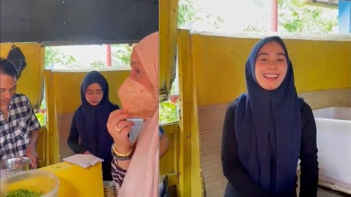 Viral Video Penjual Coto Cantik di Makassar, Warung Coto Makassar Ramai Pengunjung