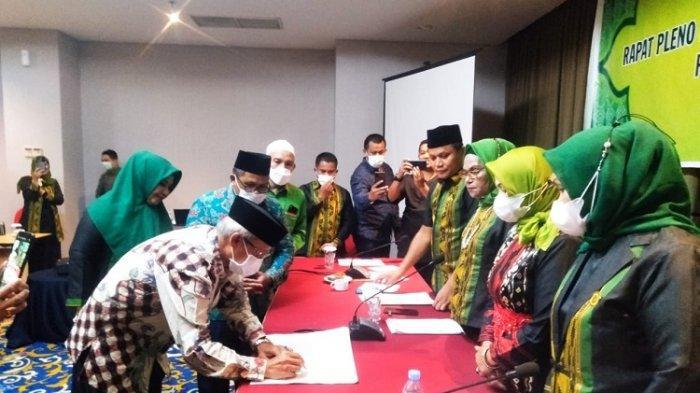 Wakil Gubernur Lukman Abunawas Terpilih Jadi Ketua Umum Lasqi Sultra Periode 2018-2023