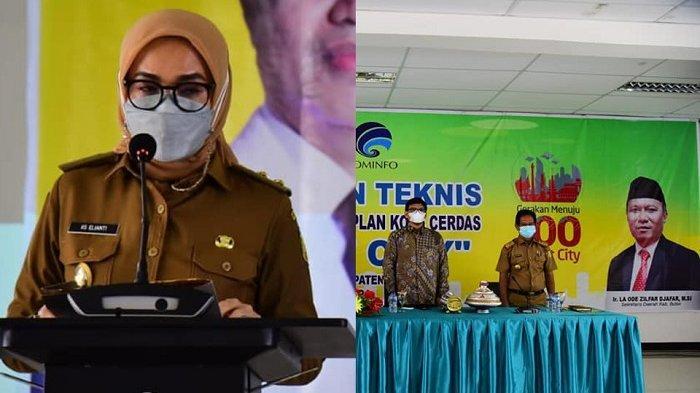 Kabupaten Buton Jadi Penyangga Wakatobi, Gelar Bimtek Smart City Bersama Kominfo RI