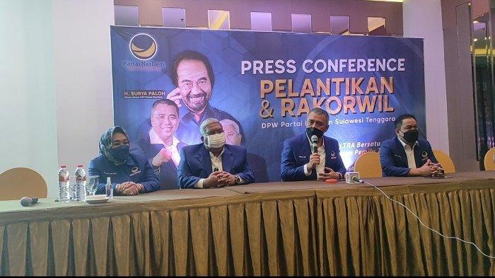 Ali Mazi Resmi Menjabat Ketua DPW NasDem Sultra, DPP Beri Tugas Politik Jelang Pemilu 2024