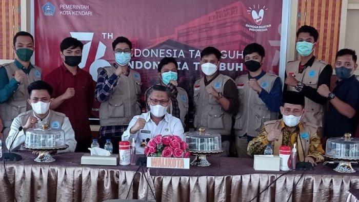 Wali Kota Kendari Audiensi dengan Donactive Peduli, Bantu Masyarakat di Masa Pandemi Covid-19