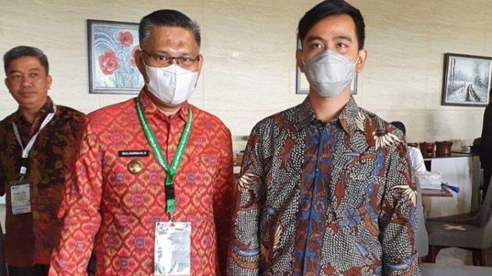 Wali Kota Kendari, Sulkarnain Kadir dan Wali Kota Solo, Gibran Rakabuming Raka