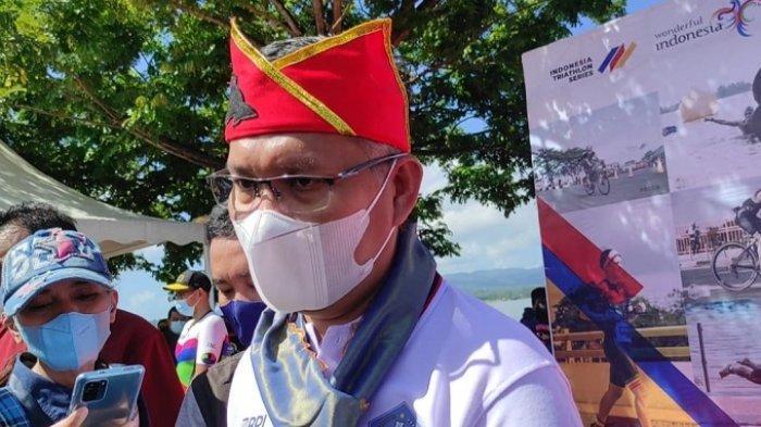 Ikut Triathlon di Palembang, Sulkarnain Kadir Bakal Siapkan Pelatih bagi Atlet Triathlon di Kendari