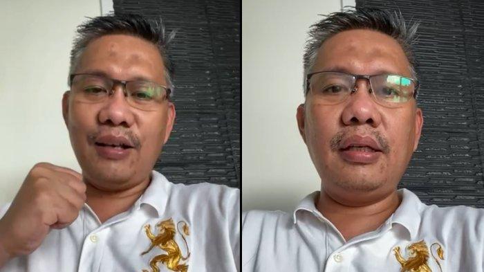 Wali Kota Kendari Sulkarnain Kadir umumkan diri positif Covid-19 melalui rekaman video, Selasa (29/06/2021) pagi.