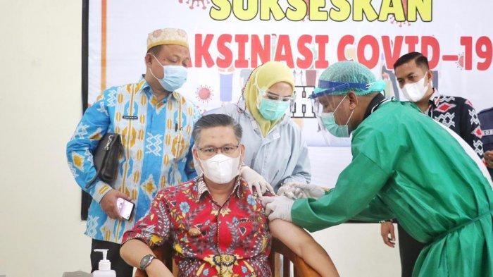 Wali Kota Kendari Sulkarnain Ungkap Efek Suntik Vaksin Sinovac,