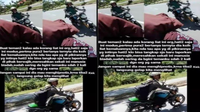 Wanita ini merekam aksi nekat pria memamerkan alat vitalnya saat berkendara